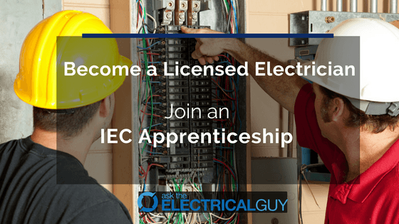 Join IEC Electrician Apprenticeship