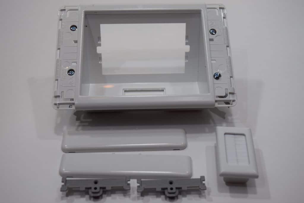 recessed tv box